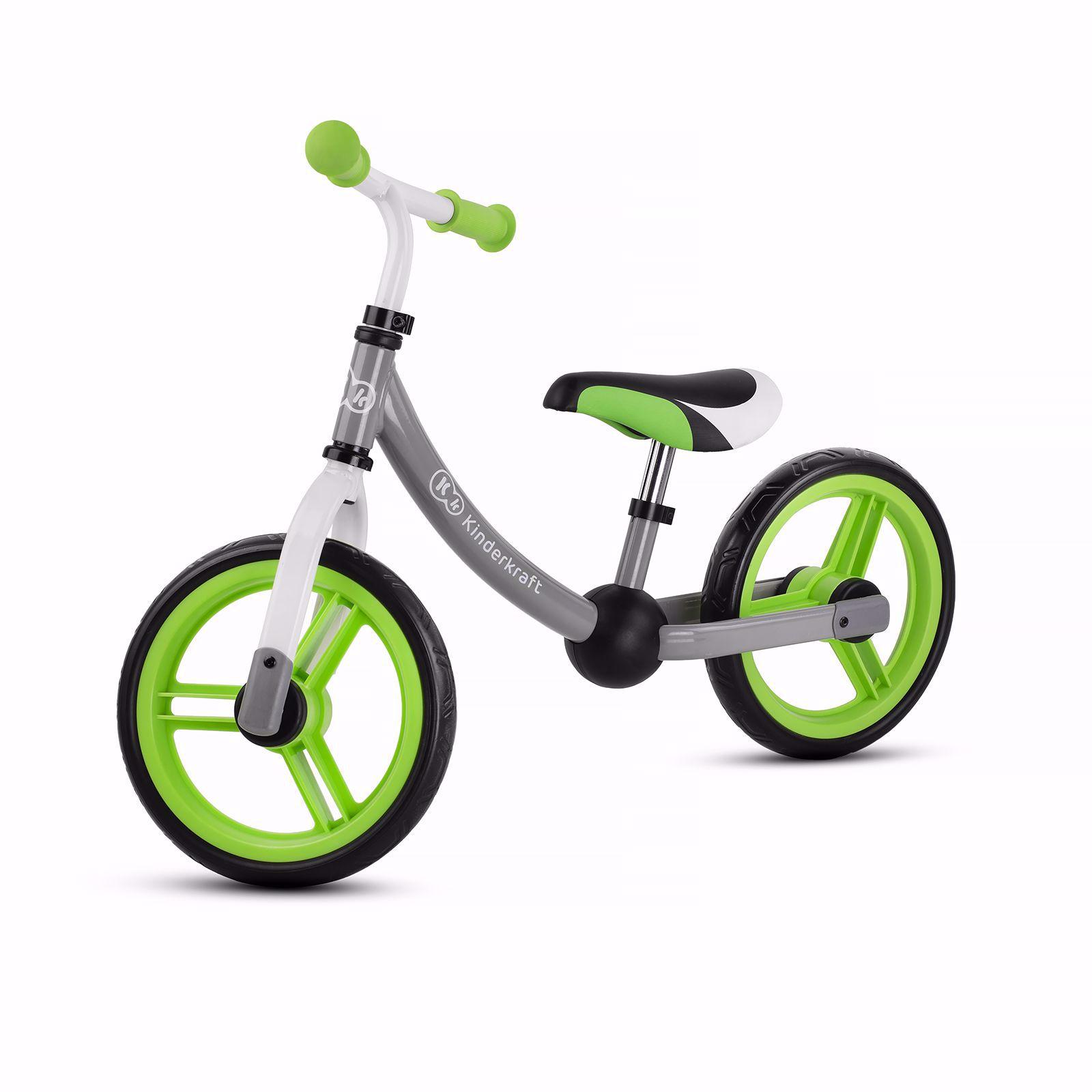 Obrazek Kinderkraft rowerek biegowy 2WAY next green/gray